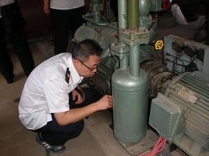 黑龙江龙江县质监局开展特种设备安全大检查活动